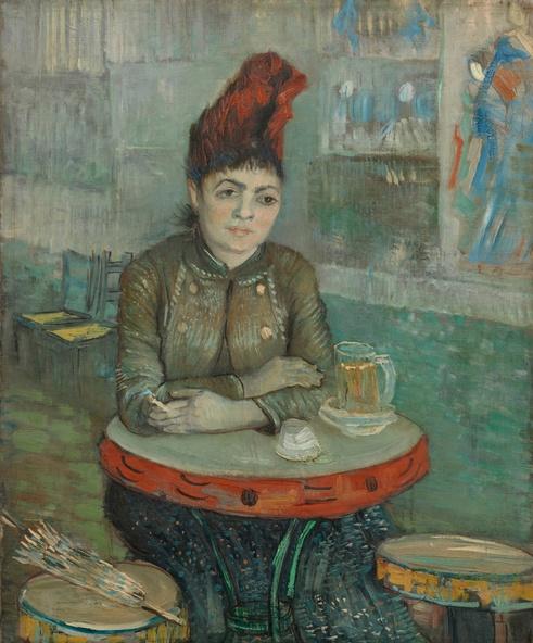 Vincent van Gogh-Agostina Segatori au Tambourin