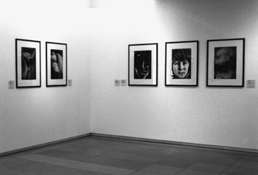 Une salle de l'exposition Photograhier la sculpture