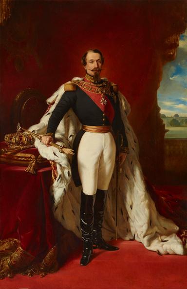 Franz-Xaver Winterhalter (d'après)-Napoléon III, empereur des Français