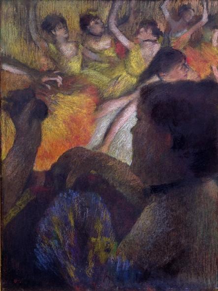 Edgar Degas-La Loge