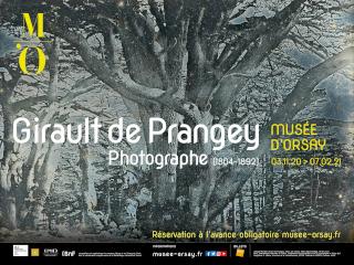 Affiche de l'exposition Girault de Prangey