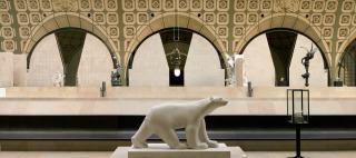 Ours blanc, Pompon François (1855-1933) sculpteur,, Pompon, François