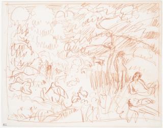 (Vers 1921), Bonnard, Pierre