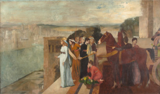 Sémiramis construisant Babylone, Degas, Edgar, Degas Edgar (dit), Gas Hilaire-Germain Edgar de (1834-1917) peintre, dessinateur, graveur, sculpteur, photographe,