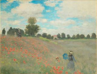 Coquelicots (en 1873), Monet, Claude