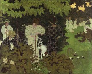 Crépuscule|La partie de croquet, Bonnard, Pierre