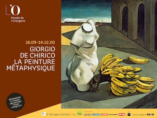 Affiche de l'Exposition De Chirico