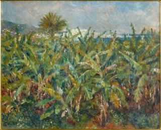 Champ de bananiers, Renoir, Auguste