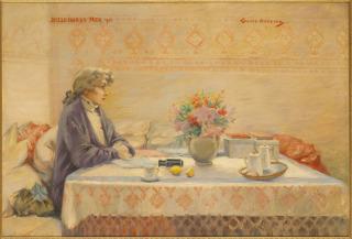 Portrait de Sarah Bernhardt, Abbema, Louise