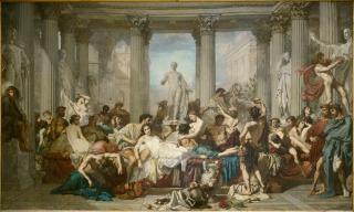 Romains de la décadence (Avant 1847), Couture, Thomas