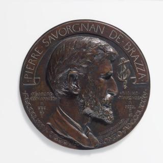 Pierre Savorgnan de Brazza (1852-1905), explorateur, Pierre Savorgnan de Brazza, Jean Désiré Ringel d'Illzach, Ringel d'Illzach, Jean Désiré
