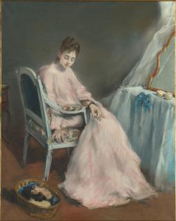 (en 1874), Gonzalès, Eva