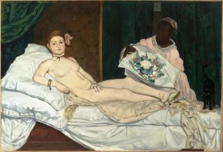 Olympia (détail) (entre 1882 et 1883), Cambos, Jean