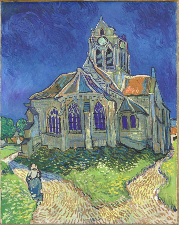 L'église d'Auvers-sur-Oise, vue du chevet, Van Gogh, Vincent