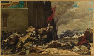 L'incendie des Tuileries, Clairin, Georges