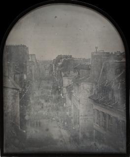 La barricade de la rue Saint-Maur-Popincourt après l'attaque par les troupes du général Lamoricière, le lundi 26 juin 1848, Thibault