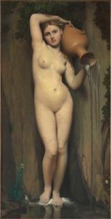 La Source, Jean Auguste Dominique Ingres