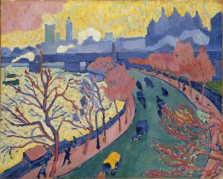 Pont de Charing Cross dit aussi Pont de Westminster, Derain, André