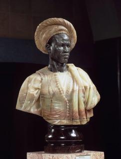 Homme du Soudan en costume algérien|Nègre, costume algérien (Salon de 1857)|Nègre du Soudan (Exposition universelle de 1889), Cordier, Charles Henri Joseph