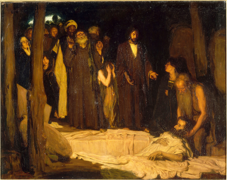 La résurrection de Lazare, Hugo, Charles, Henry Ossawa Tanner